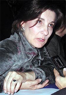 La ministra Cecilia María Vélez.