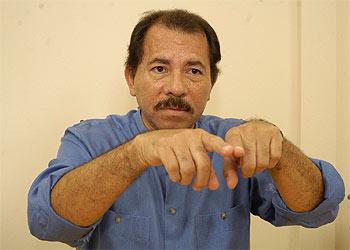 Daniel Ortega, en su despacho en Managua.