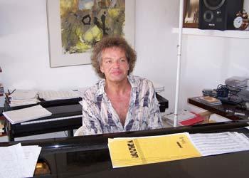 El pianista Joachim Kühn.