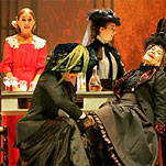 Un momento del ensayo general de  Doña Rosita la soltera,  que dirige Miguel Narros en el teatro Español.