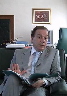Mustafá Sahel, ministro del Interior de Marruecos.