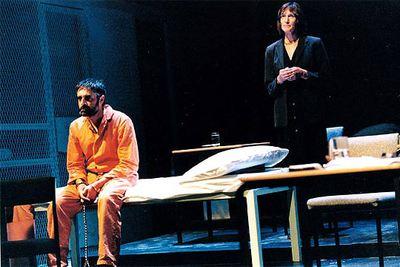 Una escena de la obra  Guantánamo: el honor obliga a defender la libertad.