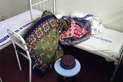 Imagen de uno de los hospitales de Mozambique.