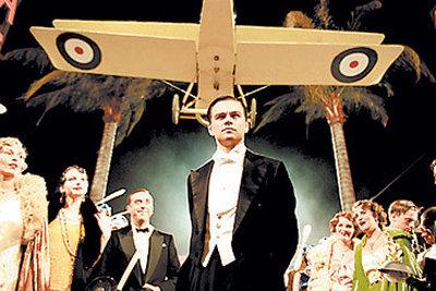 Leonardo DiCaprio, en  El aviador.