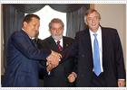Vázquez sella la alianza de Uruguay con los Gobiernos de izquierda de Suramérica