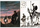 Ocho artistas recrean en 'Visiones del Quijote' la iconografía del hidalgo