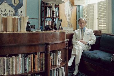 Tom Wolf, en su casa de Nueva York.