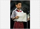 Primer discurso del niño balsero cubano