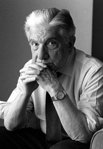 Augusto Roa Bastos, en una foto de 1992.