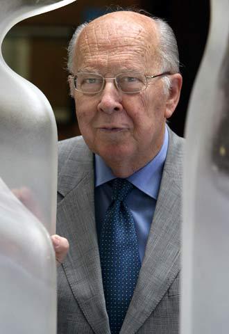 Jordi Nadal, en la Facultad de Ciencias Económicas de la UB.
