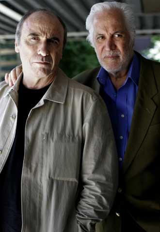 Eduardo Mignogna (a la izquierda) y Federico Luppi.