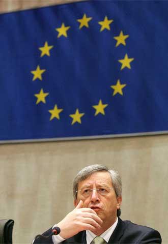 Jean-Claude Juncker, en el Parlamento Europeo en junio pasado.