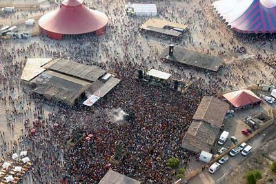Imagen del festival de Los Monegros.