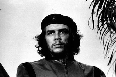 La famosa imagen del Che, que se ha convertido en un icono inmarcesible de la revolución.