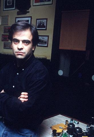 Enrique Urquijo, en una imagen de 1997.