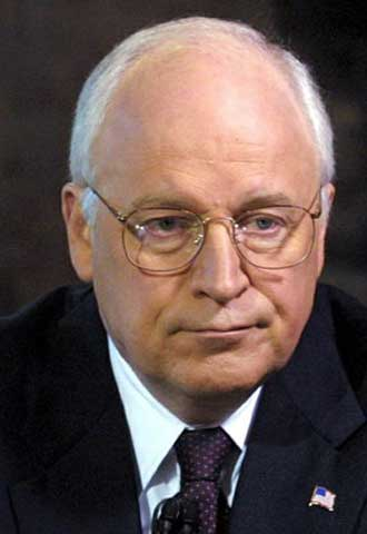 Dick Cheney.