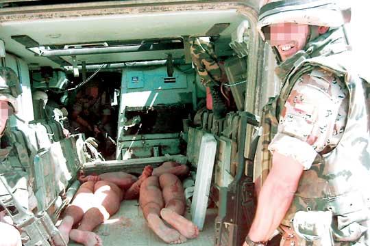 """OTRA VEZ """"EL PAIS"""" (veracidad del vídeo del maltrato en Irak de soldados españoles) 1134255601_850215_0000000000_portadilla_normal"""