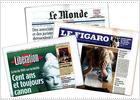 Crisis en la prensa francesa