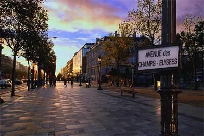 La avenida m s hermosa de par s edici n impresa el pa s for Jardines eliseos