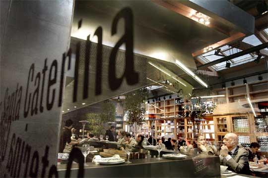 Restaurante cuines de santa caterina en barcelona - Interioristas en barcelona ...