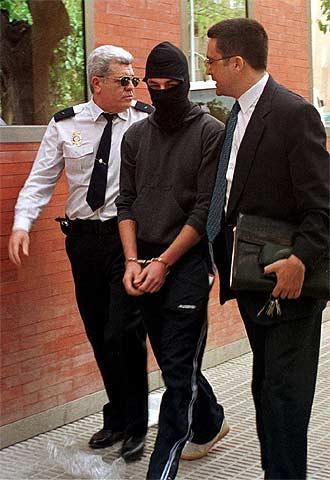 José, en abril de 2001, cuando era juzgado por el asesinato de su familia.