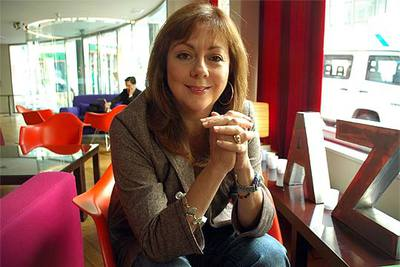 La escritora Mayra Montero, ayer en Madrid.