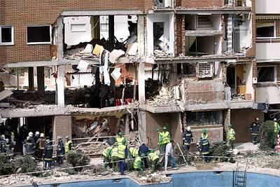 Vivienda de Leganés donde se suicidaron siete de los terroristas del 11-M.