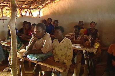 Imagen del documental  El largo camino hacia la escuela .