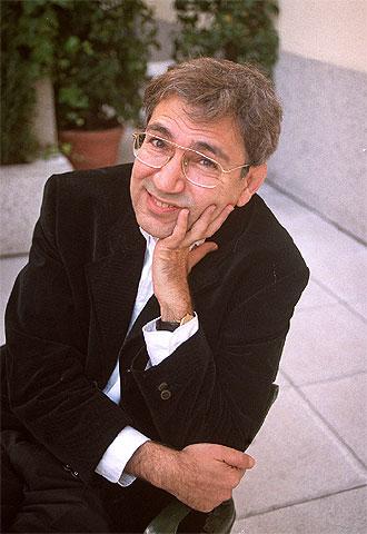 El escritor Orhan Pamuk.