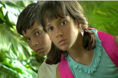 Jorgito Miló y Malú Tarrau, en un fotograma de  Viva Cuba .