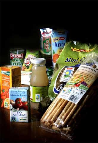 Imagen de archivo de un bodegón de productos