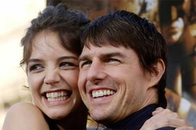 Katie Holmes y Tom Cruise, en una foto del año pasado.