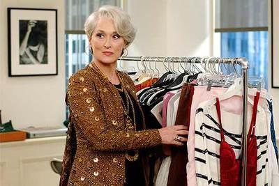 Meryl Streep, en una imagen de  El diablo viste de Prada .