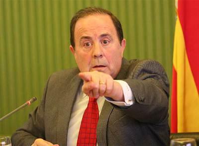 José María Rodríguez, durante su comparecencia en el Parlamento balear.