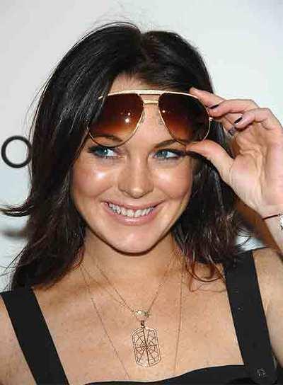 Lindsay Lohan asiste este mes a una presentación en Hollywood.