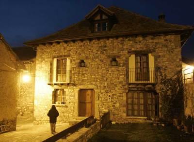 Casa rural en Fago (Huesca) propiedad del alcalde asesinado, Miguel Grima.