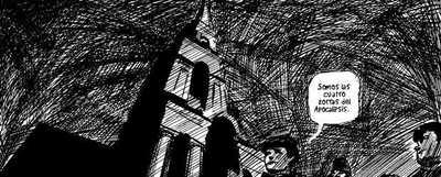 Ilustración de 'From Hell', de Alan Moore y Eddie Campbell.