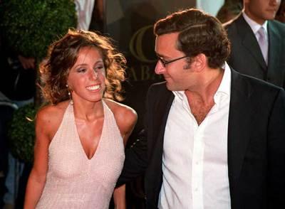 Ana Aznar junto a su futuro marido Alejandro Agag, duratne la despedida de solteros de ambos.