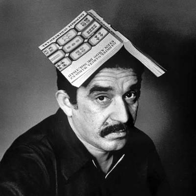 Garcia Marquez Joven García Márquez Con un