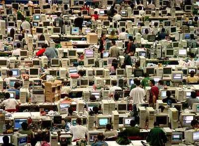 Reunión de aficionados a los ordenadores, en Vitoria.
