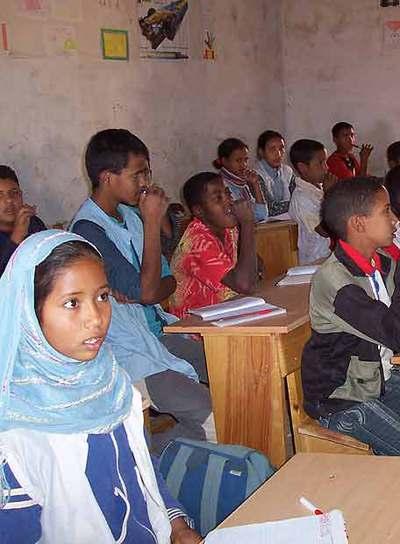 Escuela madrid s hara edici n impresa el pa s for Educacion exterior marruecos