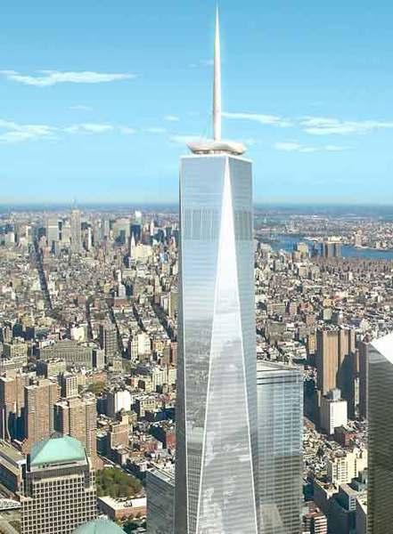 Maqueta de la Freedom Tower de Nueva York