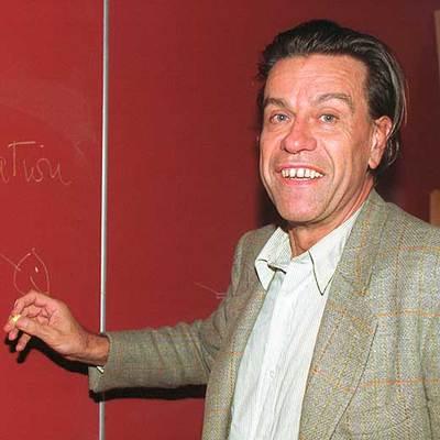 Pierre-Gilles de Gennes, en 1991.