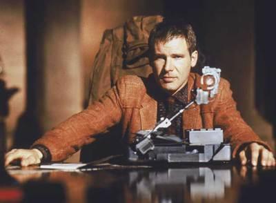 Harrison Ford, en un fotograma de  Blade Runner .