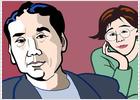 Murakami y su discípula Yoshimoto