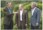 Putin llega a su cita con Bush precedido por enfrentamientos en temas militares
