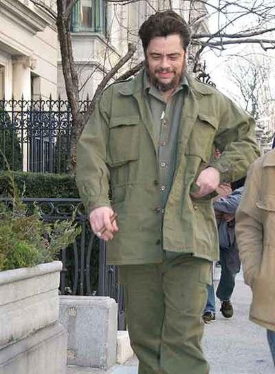 Benicio del Toro, durante el rodaje en Nueva York el año pasado.