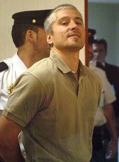 Txapote, en el juicio por el asesinato de M.A. Blanco