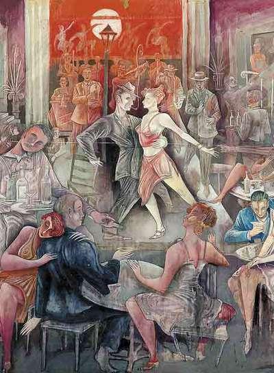 Dibujo de Ceesepe, de la colección del cantante Manolo Escobar.