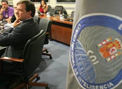 El director del CNI, Alberto Saiz, durante la comparecencia en la que anunció la detención de Flórez.